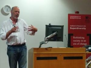 Professor Jan Blommaert, Tilburg University