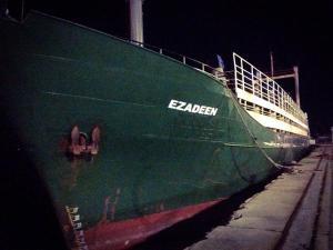 Ezadeen Cargo ship, 2015