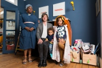 Paddy, Marie, Mae & Max, Eurochildren Family Portraits, London, 5th May 2019
